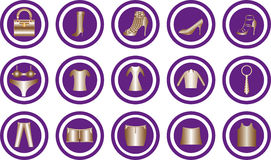 Clothes icon Royalty Free Stock Photo