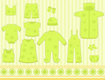 Clothes for kids Stock Image