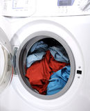 Clothes in laundry Royalty Free Stock Photos