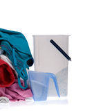 Clothes for the laundry Stock Photo
