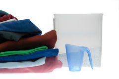 Clothes for the laundry Royalty Free Stock Photography