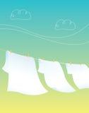 Clothes Line vector illustration