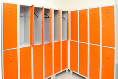 Clothes locker. Locker, clothes locker in a gym royalty free stock photo