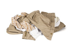 Clothes lots Royalty Free Stock Image