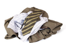 Clothes lots Stock Photography