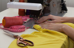 Clothes making Stock Photos