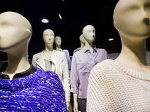 Clothes on mannequins Royalty Free Stock Photos