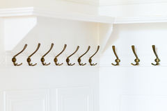 Clothes metal hanger Stock Images