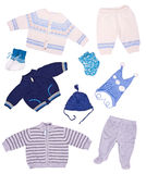 Clothes for the newborn Royalty Free Stock Photos