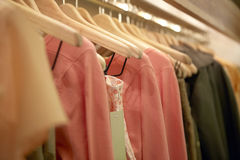 Free Clothes On Hangers Stock Photography - 25465672