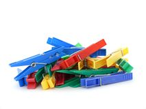 Clothes-peg Royalty Free Stock Photo