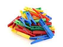 Free Clothes-peg Royalty Free Stock Image - 10618736