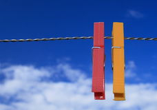 Clothes peg Royalty Free Stock Image