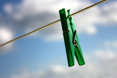 Clothes-peg Royalty Free Stock Image