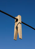 Clothes-peg Stock Image