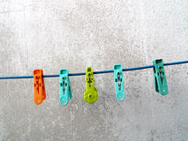 Clothes peg Stock Images