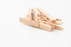 Clothes peg Royalty Free Stock Images
