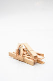 Clothes peg Stock Photography
