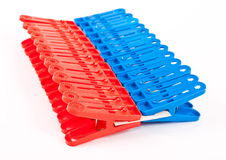 Clothes-pegs Royalty Free Stock Photography