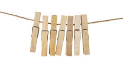 Clothes Pegs Stock Photo
