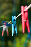 Clothes-pegs Royalty Free Stock Images