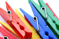 Clothes pegs Royalty Free Stock Image