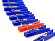 Clothes-pegs Stock Photography