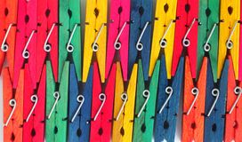 Clothes Pegs Royalty Free Stock Photo