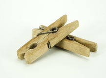 Clothes-pins Imagem de Stock Royalty Free