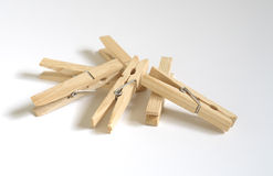 Clothes Pins Stock Image