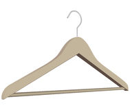 Clothes rack Stock Images