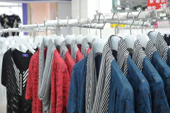 Clothes rack clothes Stock Photos