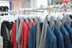 Clothes rack clothes Stock Photos