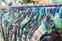 Clothes Rack Stock Photos