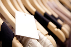 Clothes On a Rack Royalty Free Stock Photo