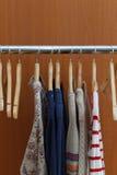 Clothes Rack Royalty Free Stock Photos