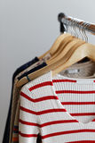 Clothes Rack Royalty Free Stock Images