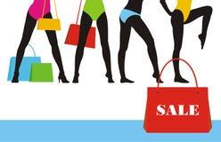 Clothes sale 6 Stock Images