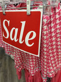 Clothes for sale at store Royalty Free Stock Photo