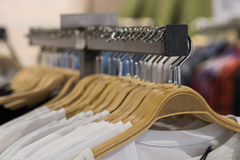 Clothes for sale Stock Photo
