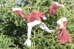 Clothes of Santa Claus Stock Image