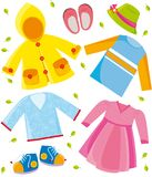 Clothes series- spring Royalty Free Stock Image