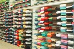 Clothes shop Stock Images