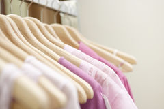 Clothes in Shop Royalty Free Stock Image
