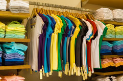 Clothes shop Stock Photography