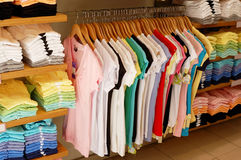 Clothes shop Stock Image