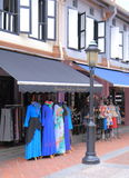 Clothes shop Arab Street Singapore Royalty Free Stock Photos