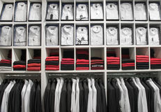 Clothes in the shop Stock Image