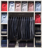 Clothes in the shop Royalty Free Stock Photo