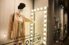 Clothes shop window Stock Image